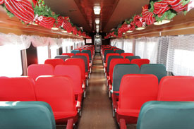 What To Do With Old Car Seats >> THE POLAR EXPRESS TM Train Ride Rhode Island Blackstone ...